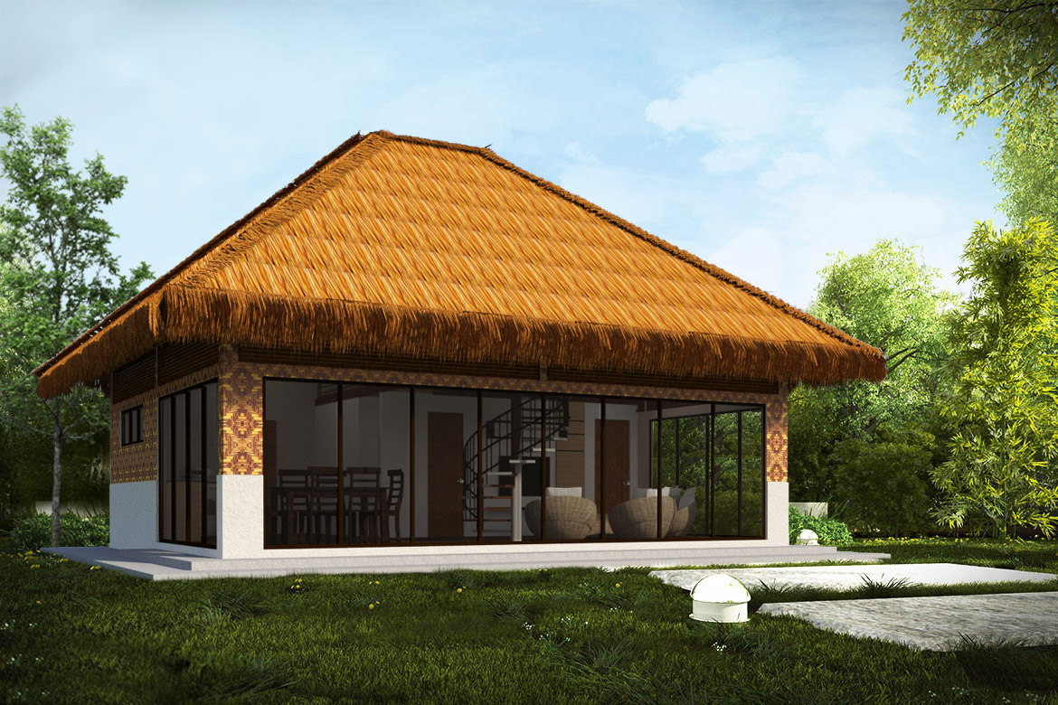 NATIVE STYLE HOUSE FOR SALE WITH LOFT