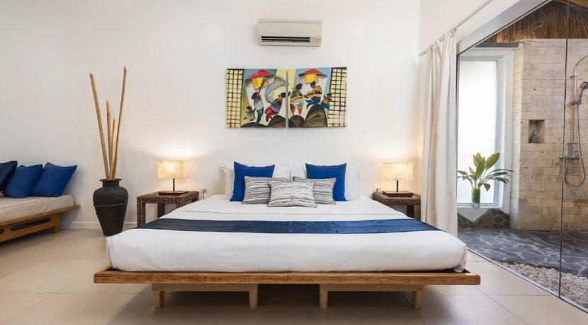 Garden Apartment bedroom