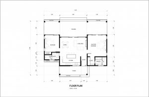 new home for sale in dauin floorplan