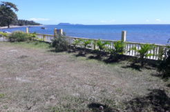 beachfront lot with house in zamboanguita